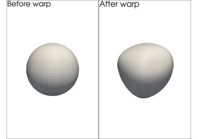 Warping by Vectors